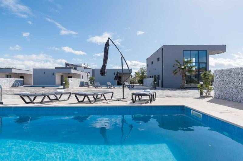 Family holiday home with pool for 4-6 pers | Fitness and Spa Center | Sports fields